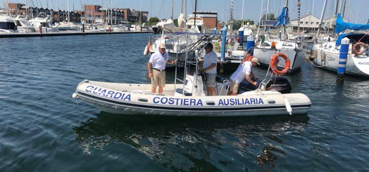 Guardia costiera ausiliaria: inaugura una stazione meteorologica